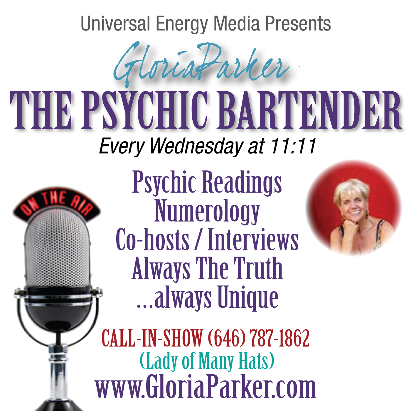 Starting in August, The Psychic Bartender Show