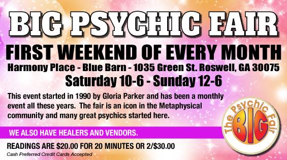 Big Psychic Fair Cards